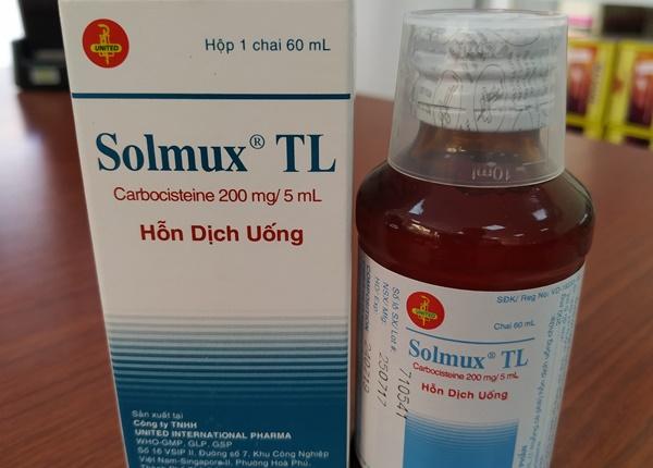 Những thông tin cơ bản nhất về thuốc Solmux broncho trị ho