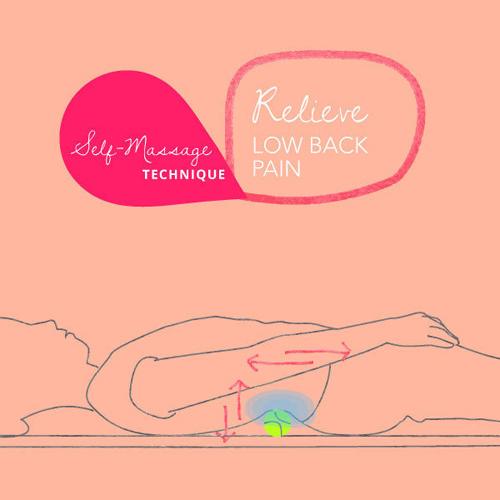Hướng dẫn cách massage khắc phục đau phần lưng dưới