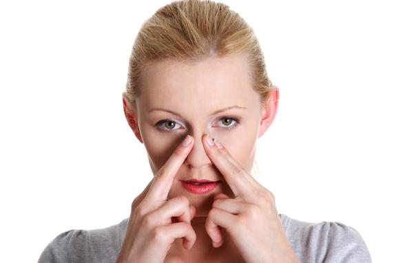 Hướng dẫn massage vùng mũi