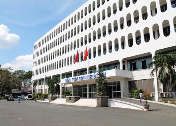 Bệnh viện Bệnh nhiệt đới TP.HCM nơi điều trị 10 nạn nhân D.T.