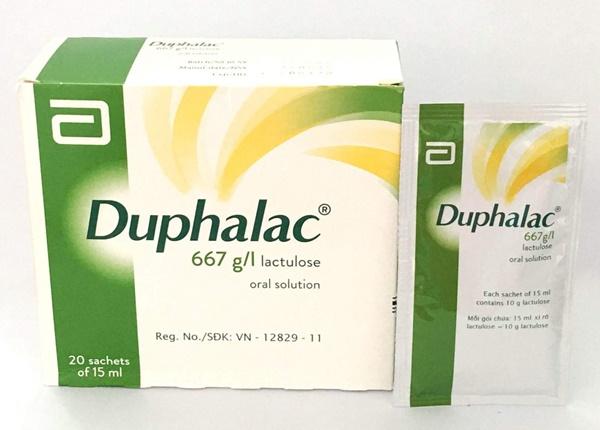 Những điều nên biết khi sử dụng thuốc Duphalac
