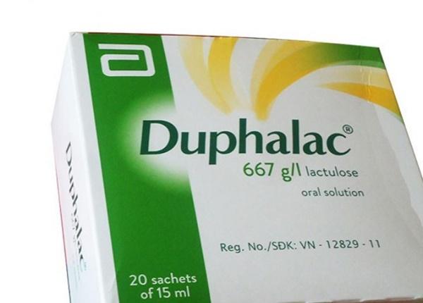 Tác dụng của thuốc Duphalac
