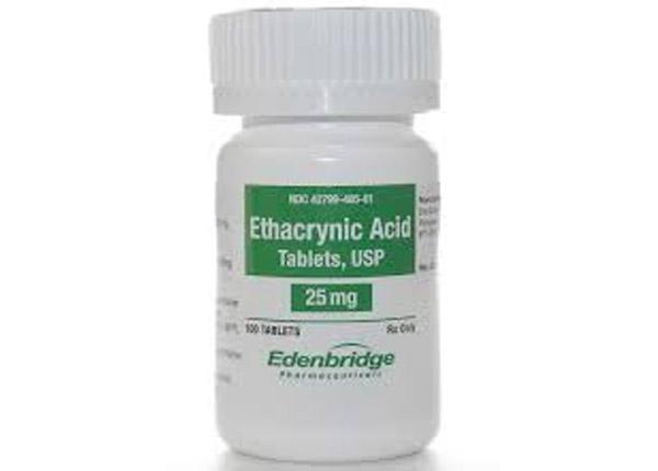 Acid ethacrynic loại thuốc lợi tiểu
