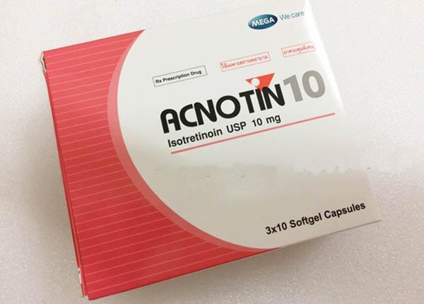 Thuốc trị mụn Acnotin 10