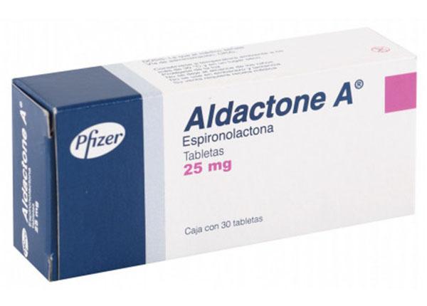 Thuốc Aldactone điều trị những bệnh lý về tim mạch, chức năng gan, thận bị suy giảm.