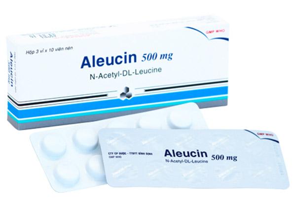 Thuốc Aleucin 500mg chữa trị các triệu chứng chóng mặt do tăng huyết áp