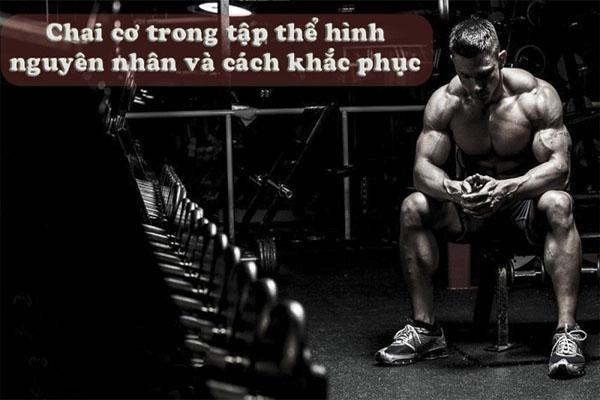 Một số điều người tập Gym cần biết về tình trạng chai cơ