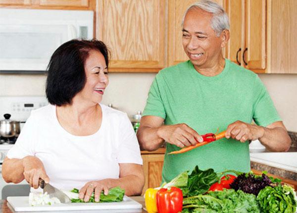 Chế độ dinh dưỡng đầy đủ góp phần ngăn chặn được bệnh Parkinson