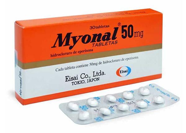 Myonal điều trị triệu chứng bệnh lý viêm đau xương khớp
