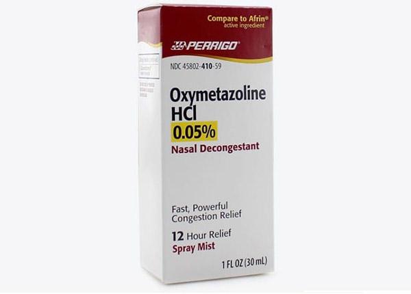 Oxymetazolin là sử dụng để giảm sung huyết tạm thời ở mũi