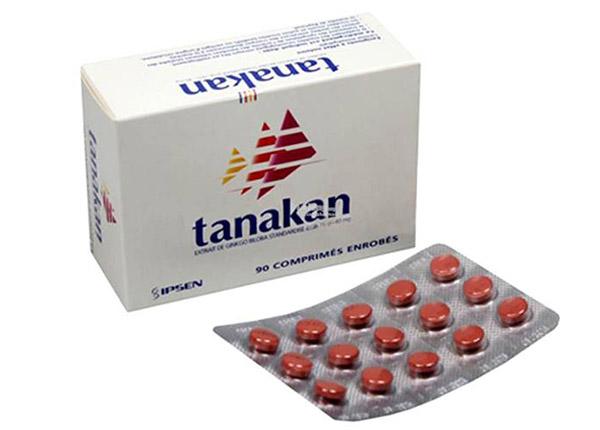 Tanakan 40mg tăng cường máu não