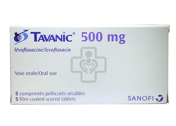 Thuốc Tavanic điều trị các trường hợp liên quan đến hệ hô hấp