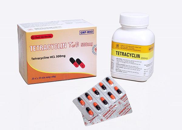 Thuốc Tetracyclin là kháng sinh kiềm khuẩn