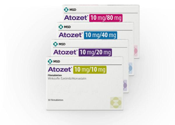 Thuốc Atozet là thuốc hỗ trợ điều trị bệnh cholesterol