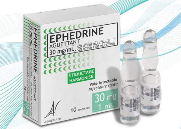 Thuốc ephedrine trị bệnh viêm mũi dị ứng, hen suyễn