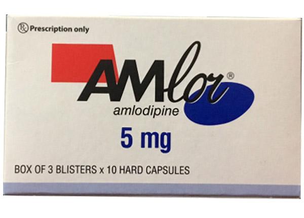 Thuốc Amlor một trong những loại thuốc hạ huyết áp