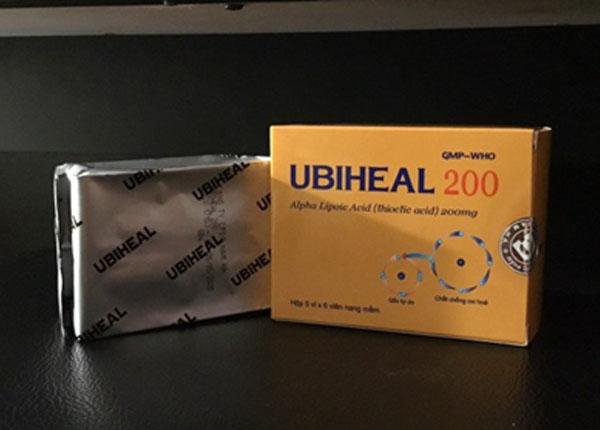 Thuốc Ubiheal hỗ trợ điều trị bệnh về gan và giải độc bia rượu