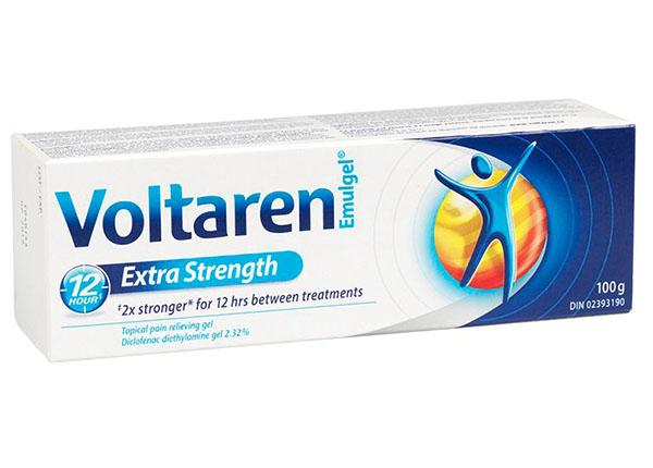 Thuốc Voltarengiảm đau chống viêm hạ nhiệt