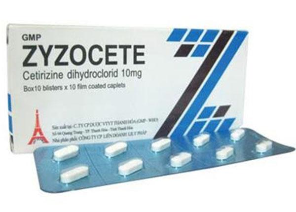 Thuốc Zyzocete trị bệnh về mũi như hắt hơi, sổ mũi
