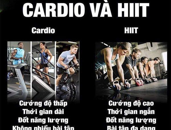 HIIT và Cardio phương pháp tập luyện nào hiệu quả tốt hơn?