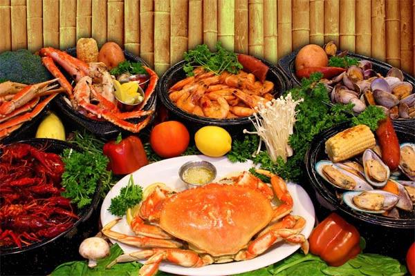 Hải sản là một trong những loại thực phẩm rất giàu giá trị dinh dưỡng