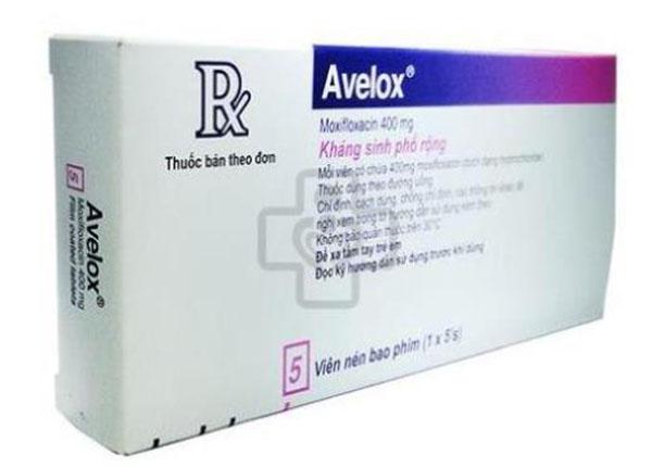 Moxifloxacin là thuốc kháng sinh có tác dụng diệt khuẩn