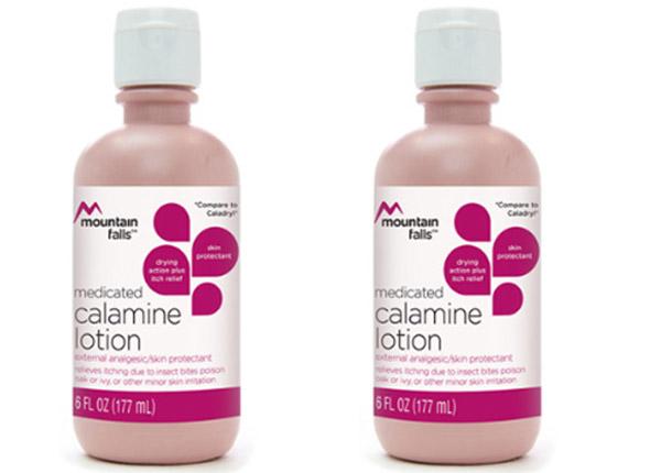 Calamine Lotion có tác dụng giảm ngứa, đau rát