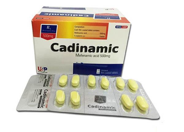 Thuốc candinamiclàm giảm đau đầu, đau răng