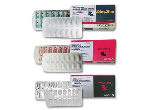 CoAprovel có tác dụng trong quá trình điều trị tăng huyết áp