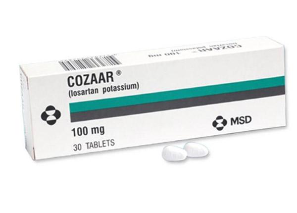 Cozaar là thuốc được dùng trong điều trị bệnh tăng huyết áp
