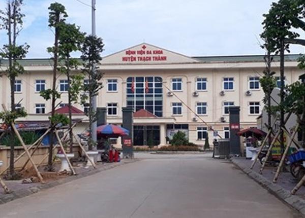 Bệnh viện Đa khoa huyện Thạch Thành (Thanh Hóa) nơi cháu H tử vong chưa rõ nguyên nhân