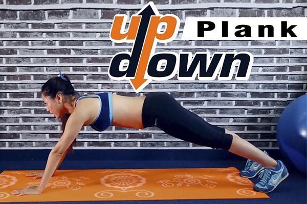 Động tácplank up/down