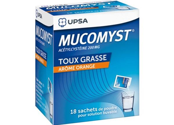 Thuốc long đờm Mucomyst