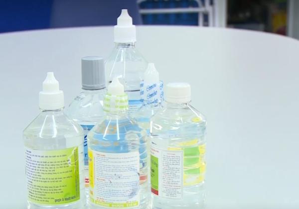 nước muối sinh lý là dung dịch natri clorid 0,9% (NaCl 0,9%)