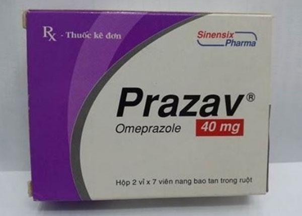 Thuốc Prazav dùng điều trị hội chứng trào ngược dạ dày