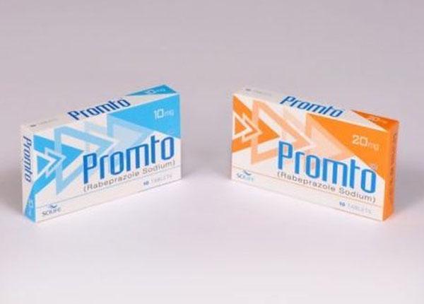 Thuốc Promto 10 trị Loét dạ dày, loét tá tràng