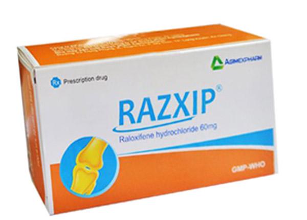 Thuốc Razxip ngăn ngừa loãng xương
