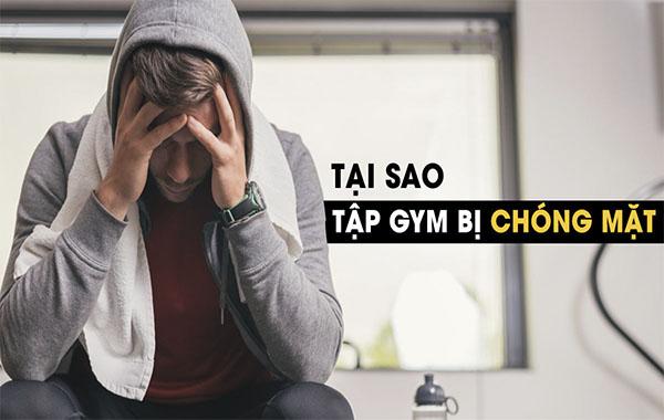 Nguyên nhân gây chóng mặt khi tập Gym