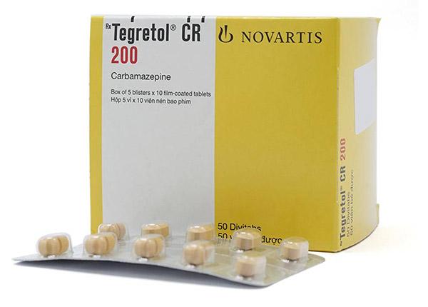 ThuốcTegretol được dùng trị động kinh