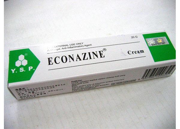 Econazine điều trị các bệnh viêm da do nấm