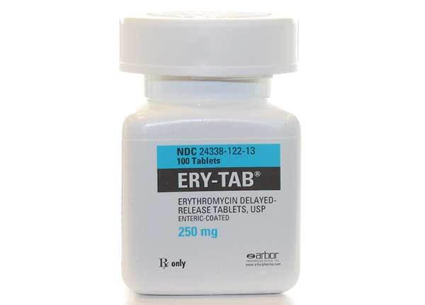 Ery-Tab là thuốc kháng sinh, dùng để chống nhiễm khuẩn