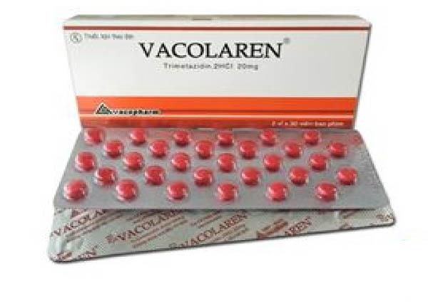 Thuốc H-vacolaren thuộc nhóm thuốc chống đau thắt ngực