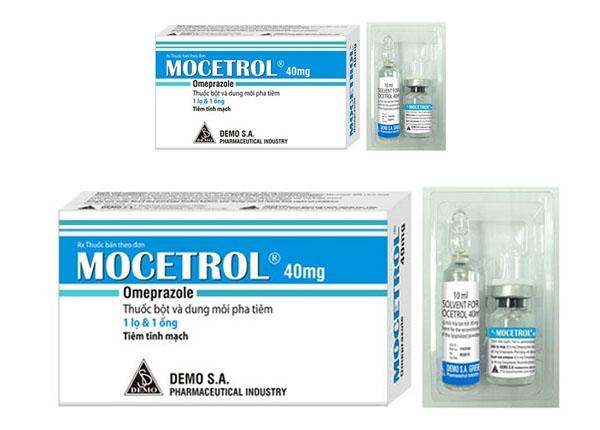ThuốcMocetrol trị bệnh loét tá tràng, loét dạ dày