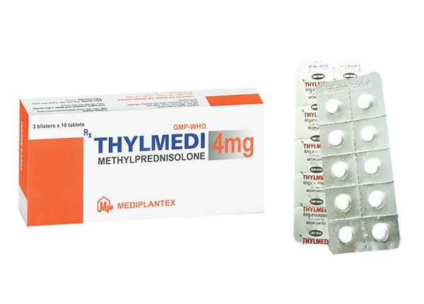 Thuốc Thylmedi có tác động kháng viêm