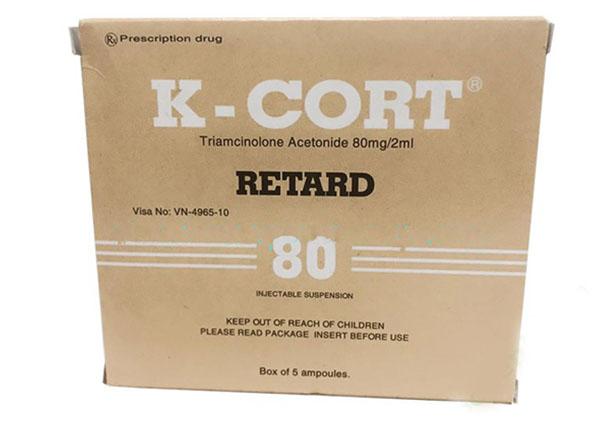 K-cortlà thuốc có tác dụng chống viêm