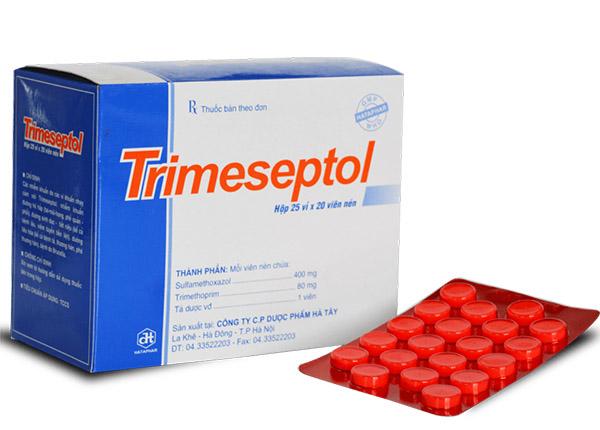 Thuốc trimeseptol có phổ kháng khuẩn rộng
