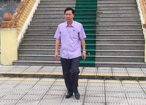 Bị cáo Trương Quý Dương.