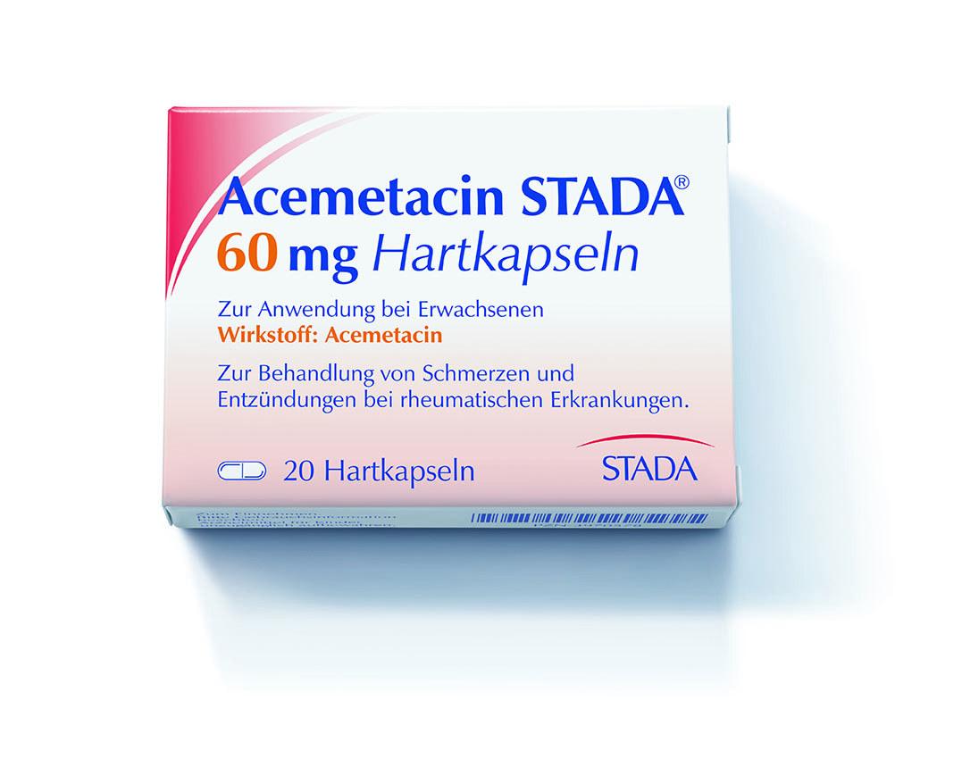 Thuốc Acemetacin 60mg