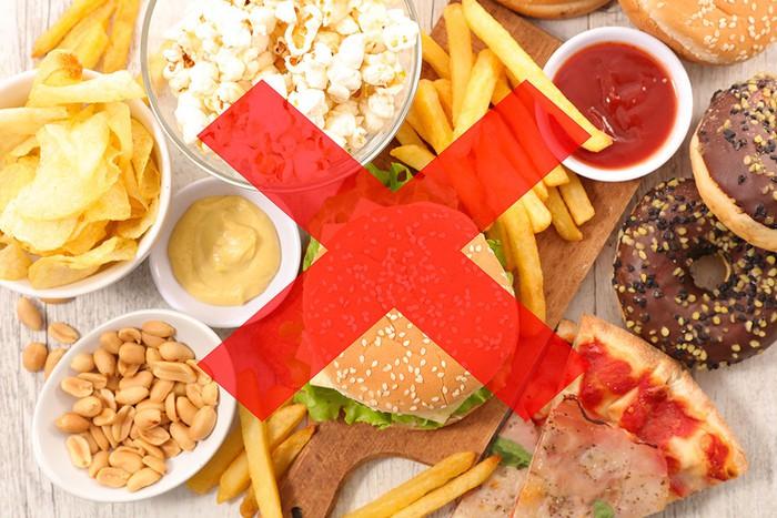 Không nên ăn quá nhiều đồ ăn chiên rán