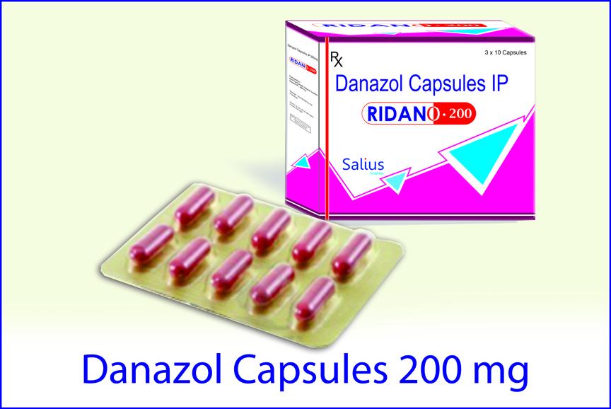 Thuốc Danazol 200mg